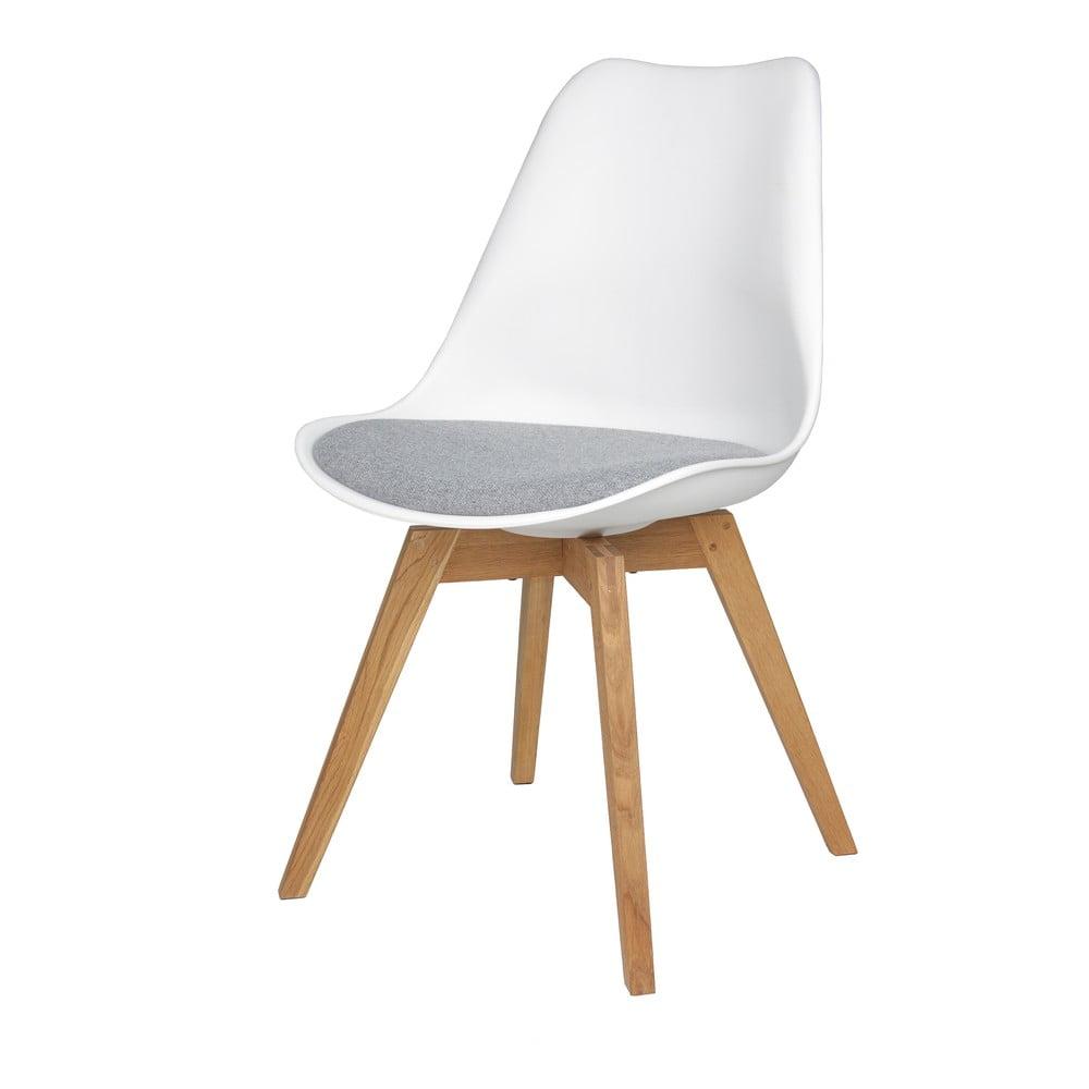 Zestaw 2 szarych krzeseł Tenzo Bess