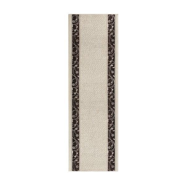 Dywan Basic Elegance, 80x200 cm, kremowy