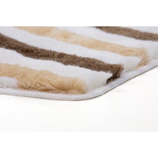 Zestaw 2 dywaników łazienkowych z wcięciem Lobby Taupe