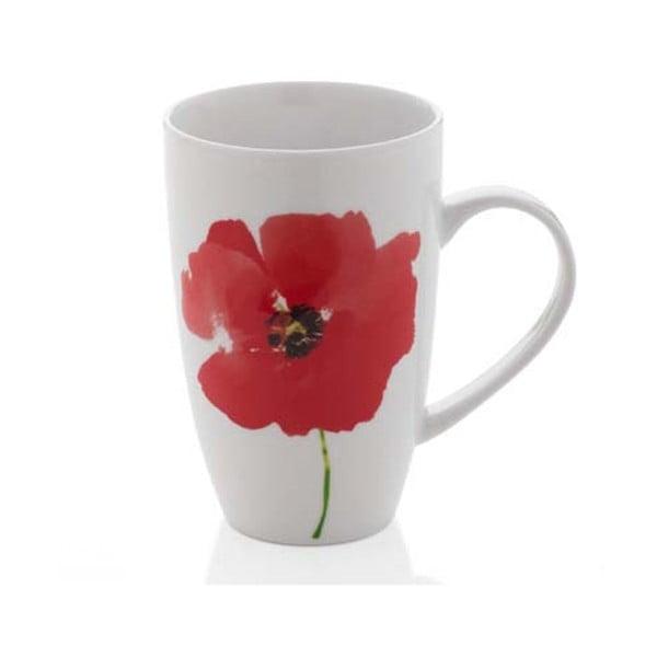 Kubek porcelanowy Sabichi Poppy, 300 ml