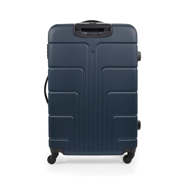 Zestaw 3 niebieskich walizek na kółkach Blue Star Ottawa