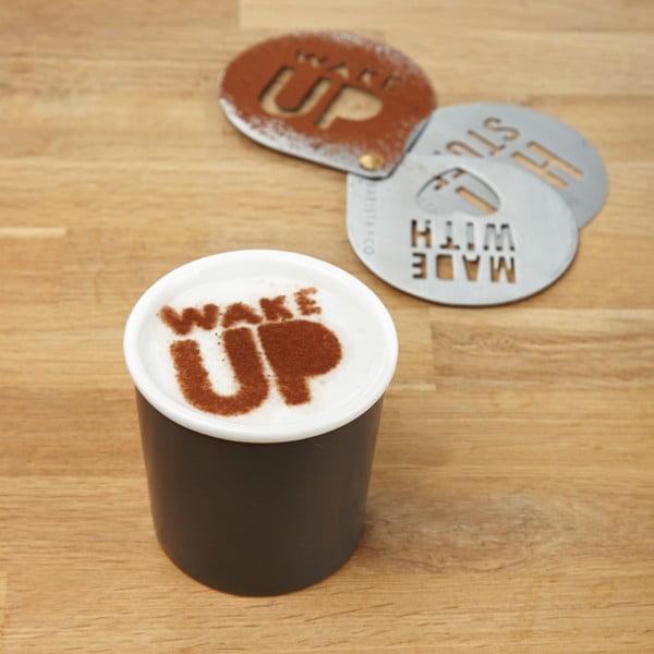 Szablony do zdobienia kawy Barista
