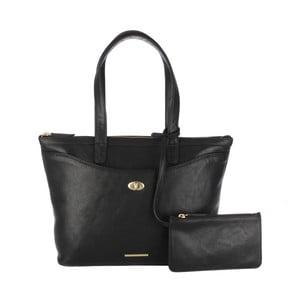 Damska torebka z sakiewką Leona Black