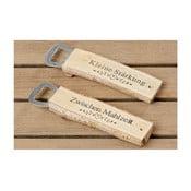 Zestaw 2 otwieraczy z brzozowego drewna Boltze Susen