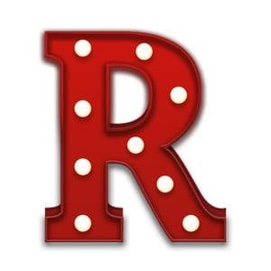 Światło dekoracyjne Carnival R, czerwone