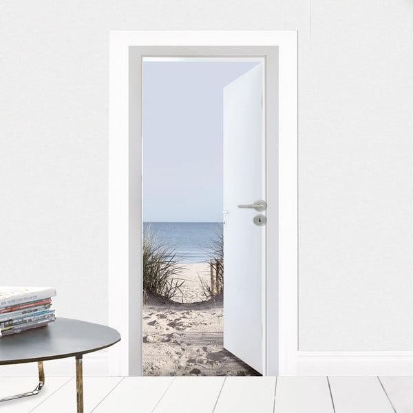 Naklejka na drzwi Nad morzem