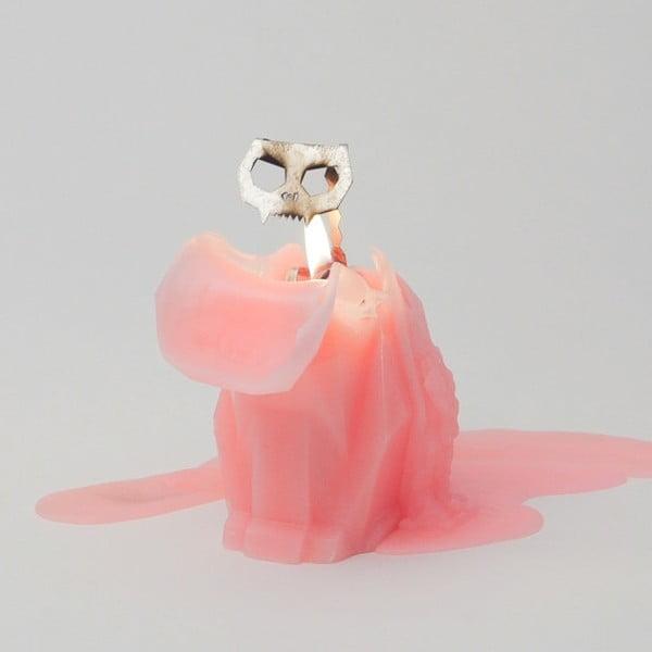 Świeczka Pyropet Kisa Pink