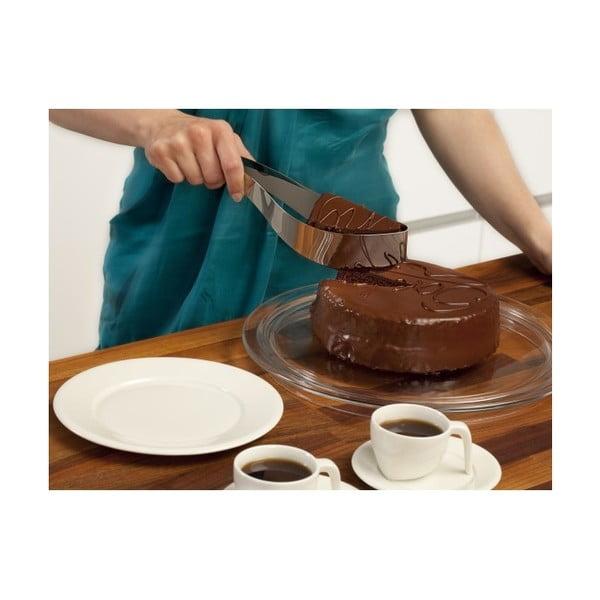 Nóż/łopatka do ciasta, czarny