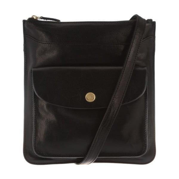 Skórzana torba Lilia Black