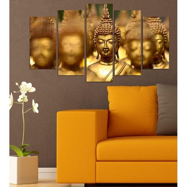 5-częściowy obraz Buddha