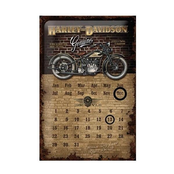 Blaszana tabliczka Harley Davidson, 20x30 cm