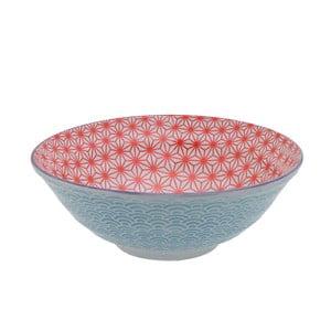 Porcelanowa miska Star Red, 21 cm