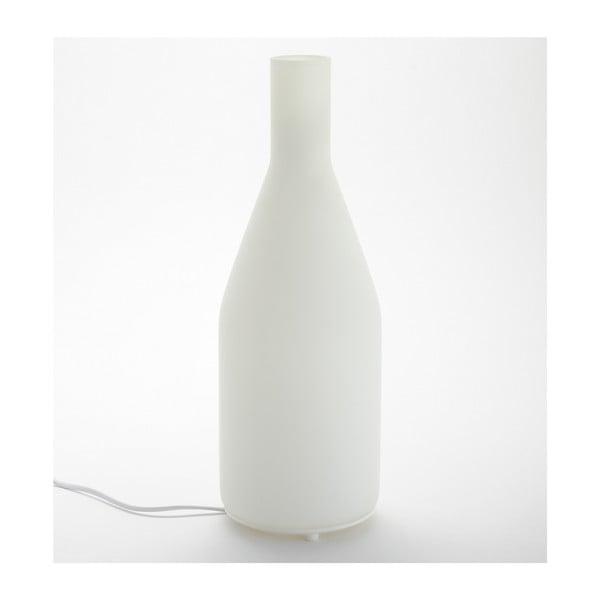 Lampa stołowa Long Bottle, biała