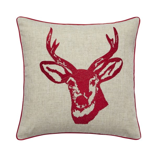 Poduszka Stags Head Red, 43x43 cm