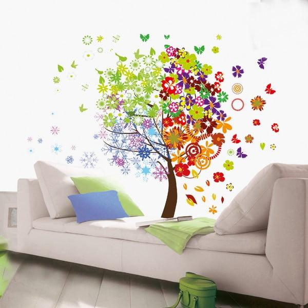 Naklejka dekoracyjna Kolorowe drzewo