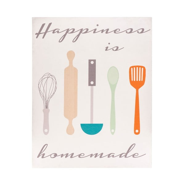 Drewniany obraz Happiness is Homemade, 20x25 cm