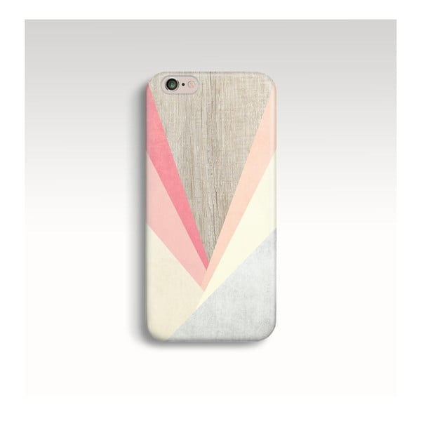 Etui na telefon Wood Triangles III na iPhone 5/5S