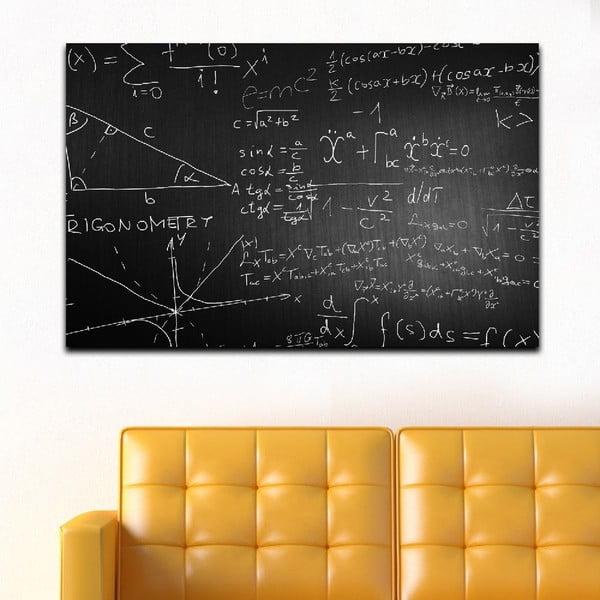 Obraz Black&White Math, 45x70 cm