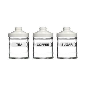 Zestaw 3 pojemników na herbatę, kawę i cukier Premier Housewares, 760ml
