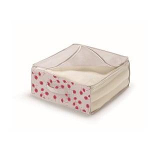 Różowo-białe pudełko na pościel Cosatto Poisf, 45x45 cm