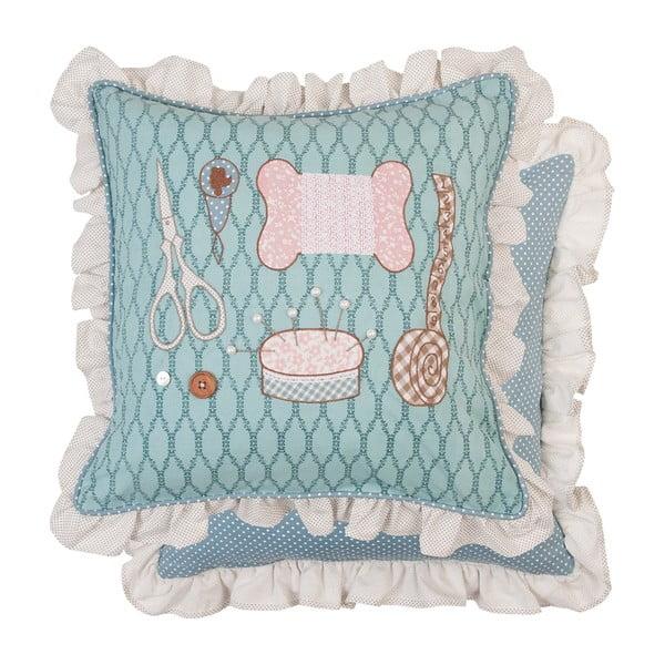 Poszewka na poduszkę Sewing Kit, 50x50 cm