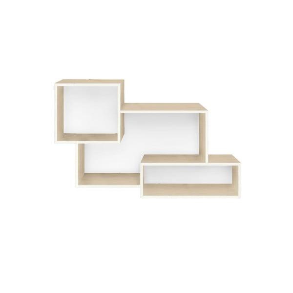 Potrójna półka z białym wnętrzem Really Nice Things Mix
