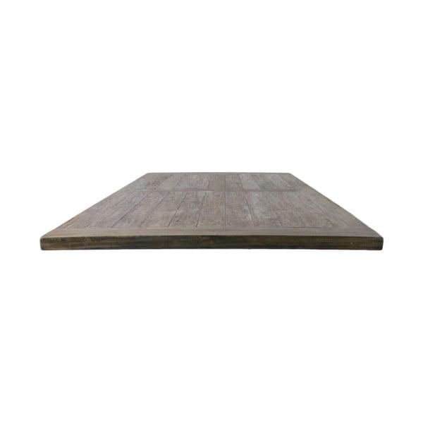 Blat do stołu z drewna tekowego HSM collection, 240x100 cm