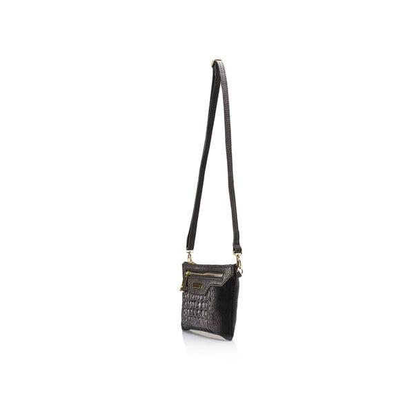 Czarna torebka skórzana Lisa Minardi Veronica