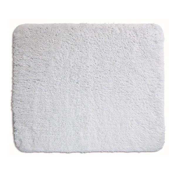 Biały dywanik łazienkowy Kela Livana, 80x50cm