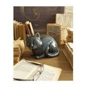 Szary kot z ceramiki Orchidea Milano