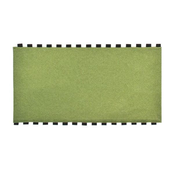 Tapperello Green, dywan 120x65 cm
