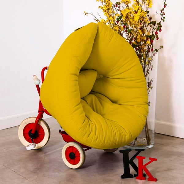 Fotel dziecięcy Karup Baby Nest Amarillo