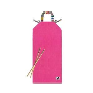 Różowy leżak plażowy Origama Inka