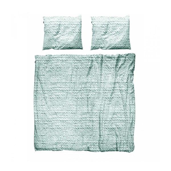 Pościel Snurk Twirre Pale Green, 200 x 200 cm