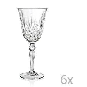 Zestaw 6 kieliszków do szampana RCR Cristalleria Italiana Grazia