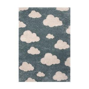 Niebieski dywan dziecięcy Zala Living Cloud, 120x170 cm