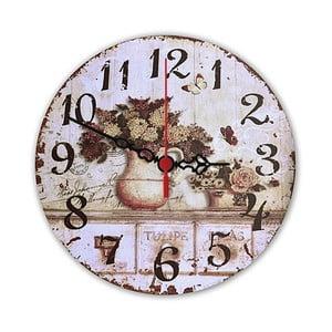 Zegar ścienny Floral, 30 cm
