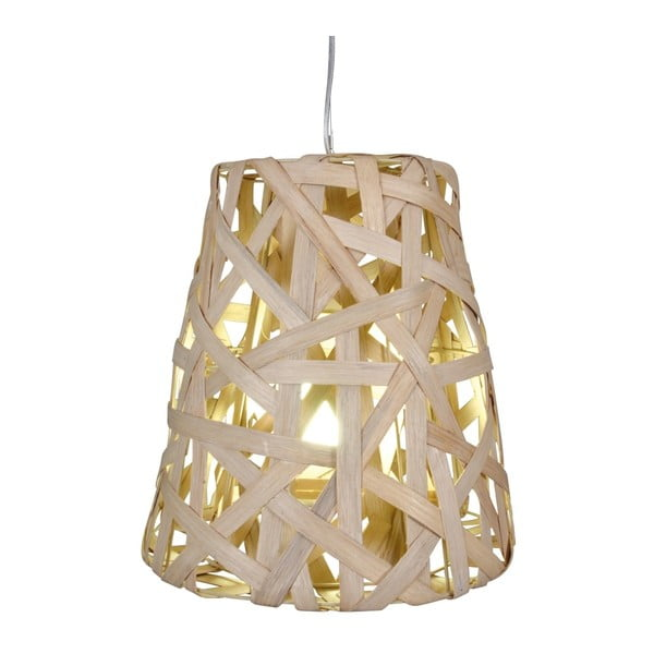 Beżowa lampa wisząca Naeve Basket