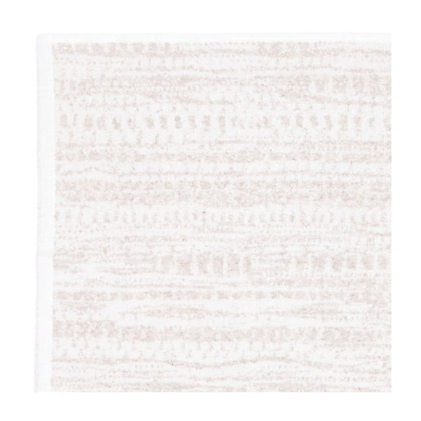Komplet 2 kremowych ręczników frote Casa Di Bassi Marta, 50x90 cm