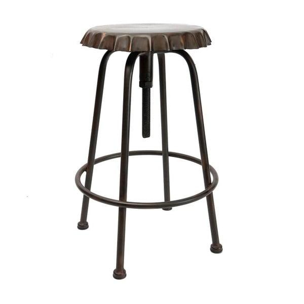 Metalowy stołek Tabouret Antique Soda