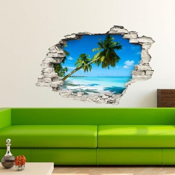 Naklejka Ambiance Landscape at a Beach, 60x90 cm