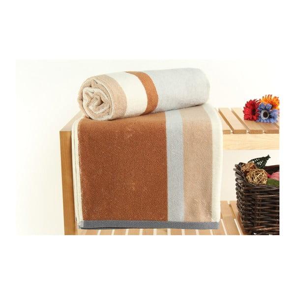 Zestaw 2 ręczników Peter Nougat, 70x140 cm