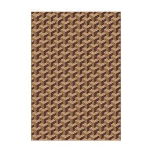Brązowy dywan Universal Nilo, 133x190 cm