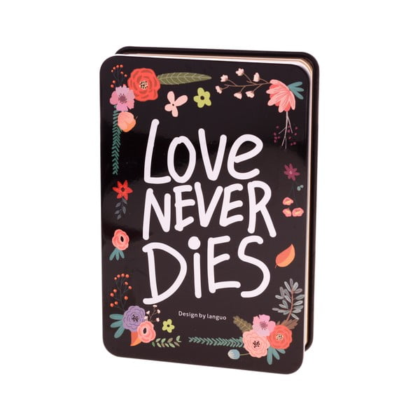 Notes Languo Love, czarny