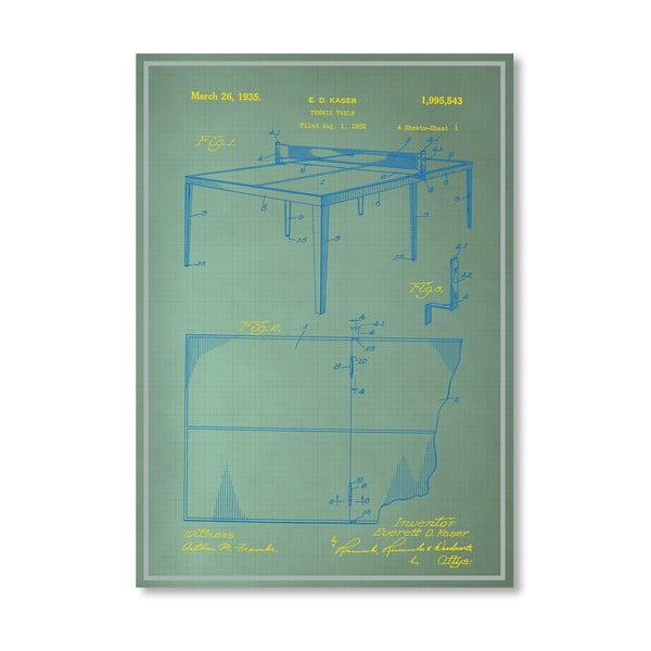 Plakat Table Tennis, 30x42 cm
