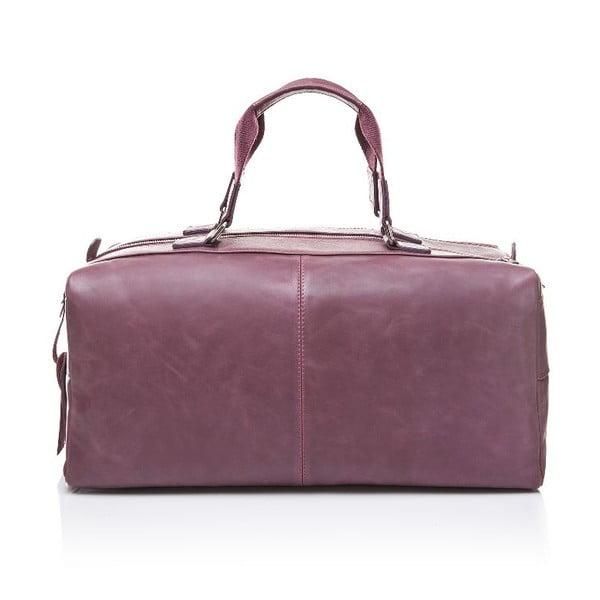 Męska torba skórzana Ferruccio Laconi 102 Bordeaux
