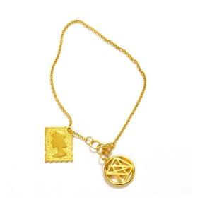 Bransoletka Queen Gold, 17 cm