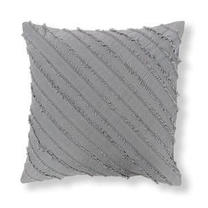 Szara poszewka na poduszkę La Forma Delia, 45x45 cm