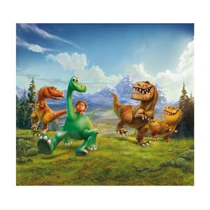Foto zasłona AG Design Dobry dinozaur, 160x180cm