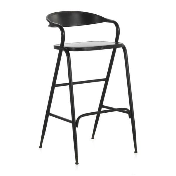Czarny metalowy stolik Geese Industrial Style
